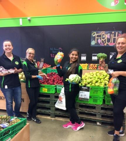 Fresh Fruit & Vegetables Gallery - Funky Staff